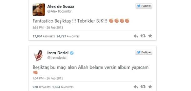 Liverpool'u yenen Beşiktaş sosyal medyanın gündemi oldu