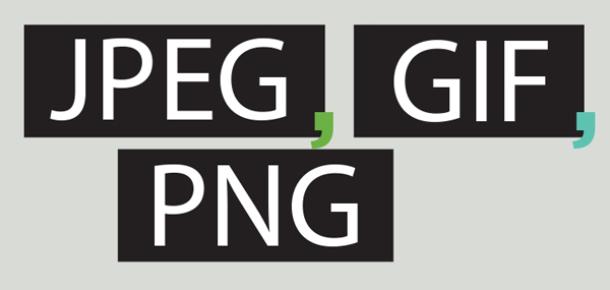 Popüler görsel uzantıları (JPEG, PNG, GIF) ne anlama geliyor? [infografik]