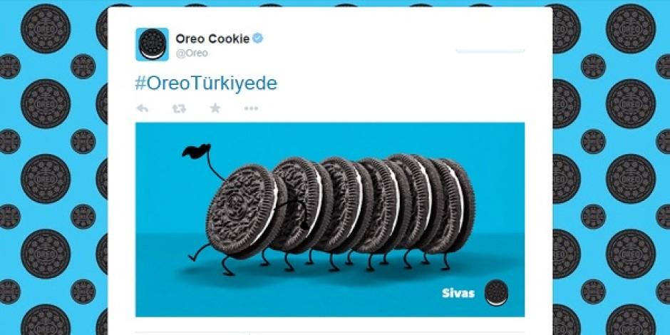 8 tweet'le Oreo'nun Türkiye'ye adımı