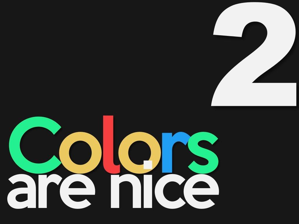 renkler iyidir