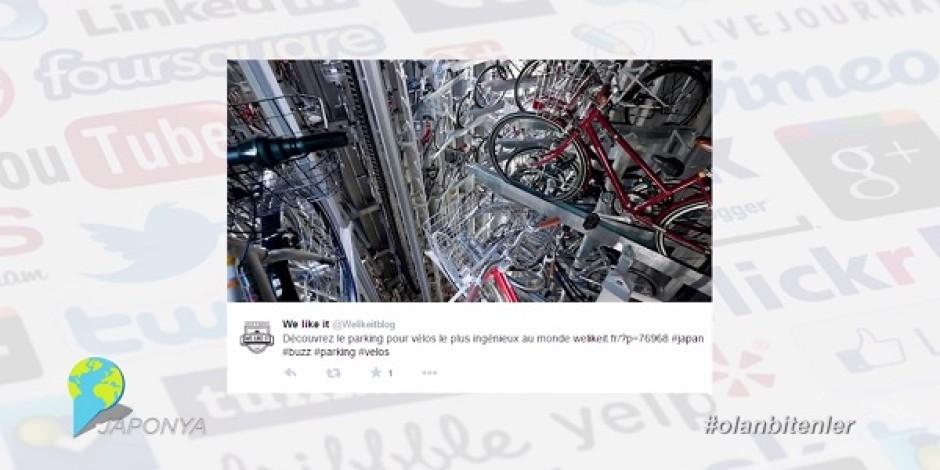 Bisiklet otoparkı için olağanüstü teknoloji ile Sosyal Medya'da #olanbitenler [video]