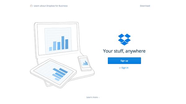 Website-Homepage-Design-2015-Dropbox