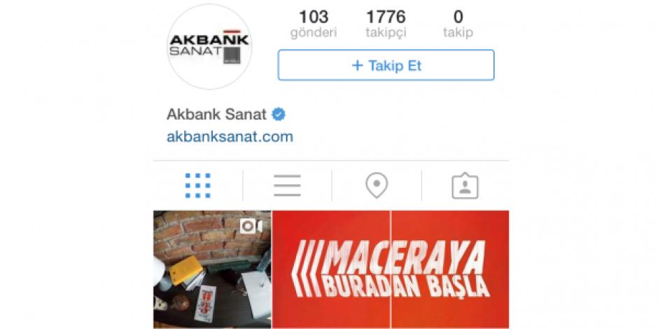 Akbank Sanat'tan interaktif Instagram hikayesi: #kısayoldan