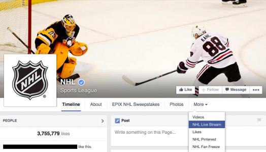 nhl-facebook