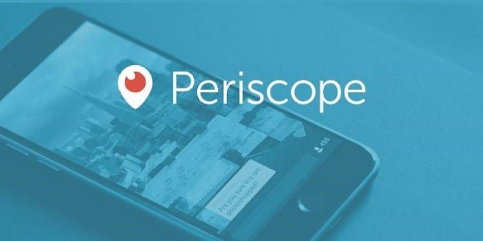 Twitter, canlı yayın deneyimi sunan Periscope uygulamasına detaylı bakış