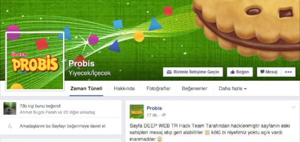 Probis'in Facebook Sayfası Hacklendi [Güncellendi]