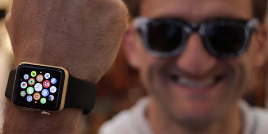 Apple Watch Sport'u altın kaplamalı 11 bin dolarlık Apple Watch Edition'a dönüştürmek [video]