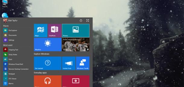 Windows 10'da bizi bekleyen 7 güzellik