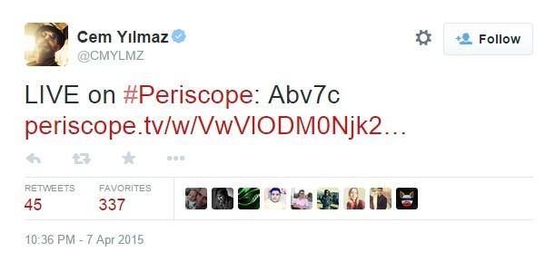 periscope-cem-yilmaz