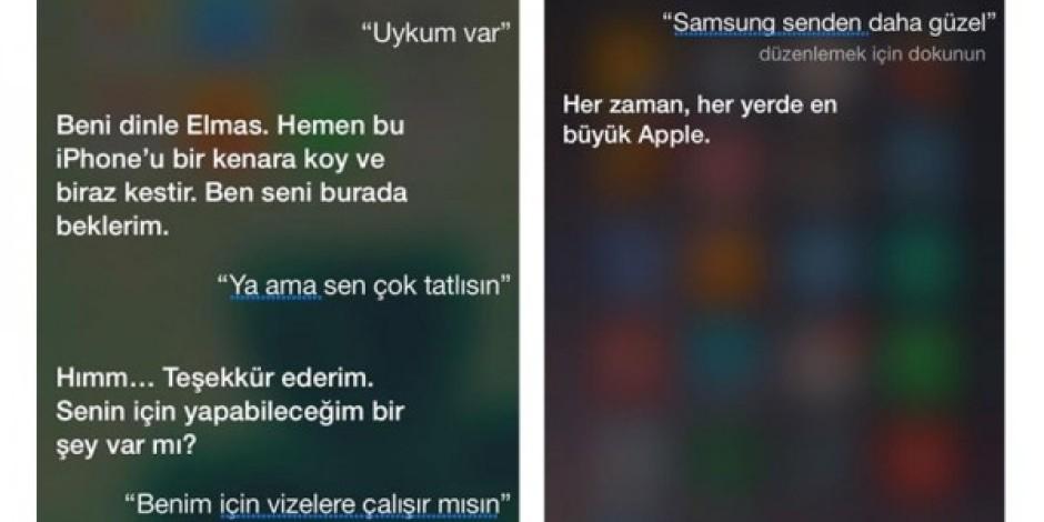 Siri ile yapılan komik diyaloglar