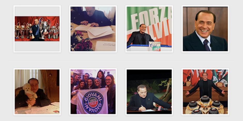 İtalya'da seçimlere hazırlanan Berlusconi Instagram'a giriş yaptı