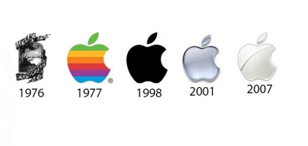 Apple'dan Google'a teknoloji devlerinin logo değişiklikleri
