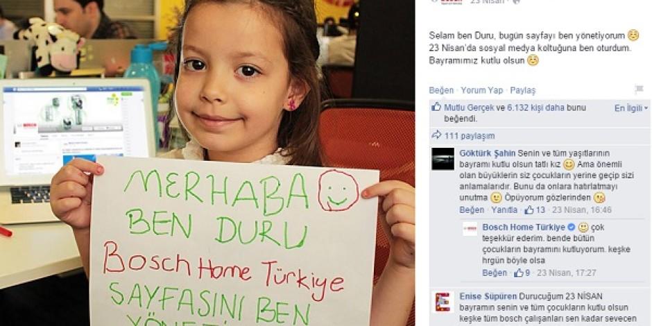Bosch Türkiye'nin 23 Nisan kampanyasına detaylı bakış