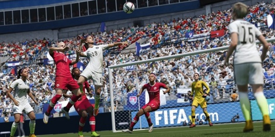 Tezahüratlara dikkat! FIFA 16'da bayan milli takımları oyunda!