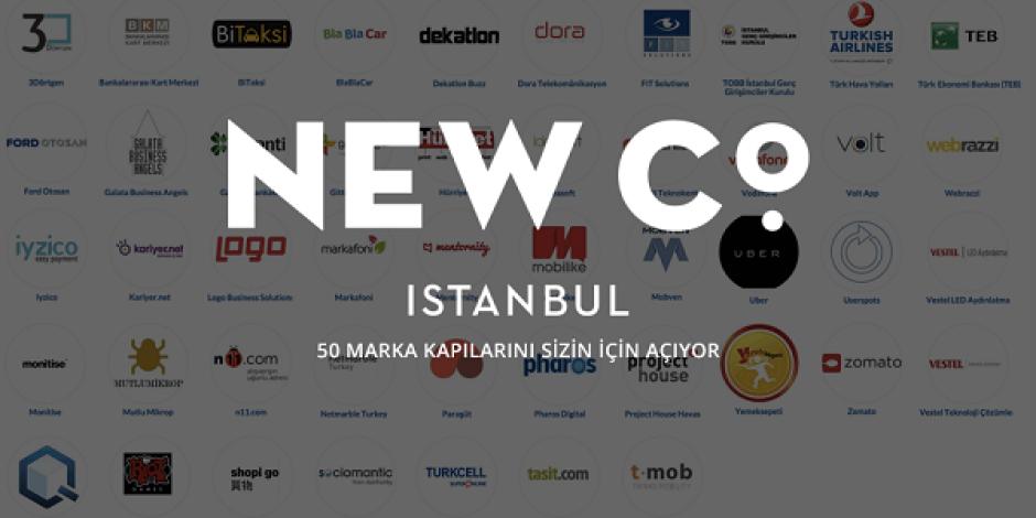 NewCo İstanbul'a katılmanız için 50 sebep