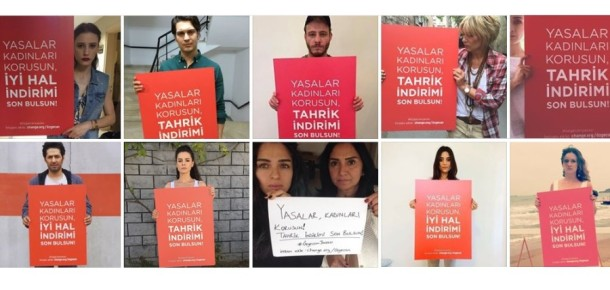 Dünya genelinde 6. büyük imza kampanyası olan Özgecan Yasası'na ünlülerin desteği gecikmedi