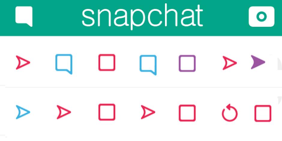 Snapchat ikonları ne anlama geliyor?
