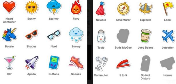 Swarm, yeni güncellemesinde Foursquare rozetleriyle geldi