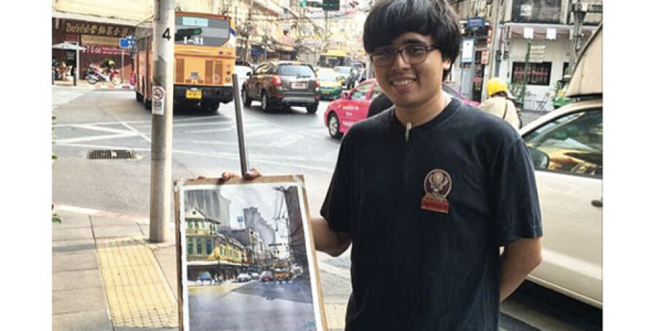 İşleriyle hayran bırakan sulu boya sanatçısının 5 paylaşımı