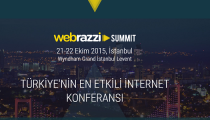 Türkiye'nin en etikili internet konferansı Webrazzi Summit'in biletleri satışa çıktı