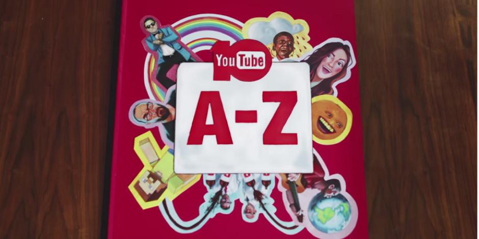 YouTube'dan 10. yaşına özel video