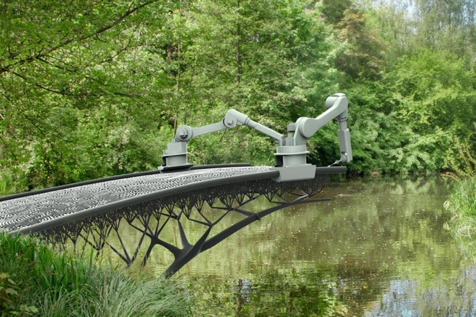 Hollanda'da 3B yazıcı ile köprü yapılması planlanıyor