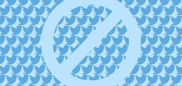 Twitter'da kullanıcı engellemek artık çok daha kolay