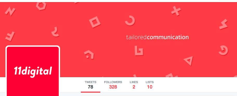 11digital - Twitter