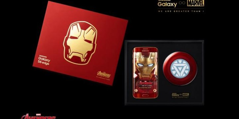 Samsung Galaxy S6 Edge Iron Man özel tasarımı rekor fiyata satılıyor
