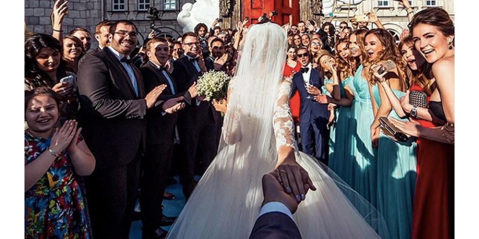 Meşhur #Followmeto çifti evlendi
