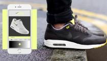 Telefonunuzdan ayakkabınızın rengini değiştirin