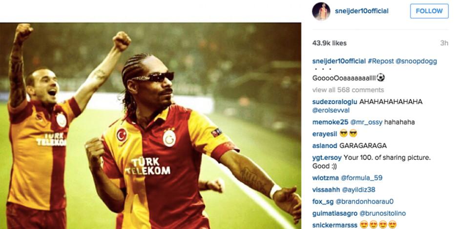 Snoop Dogg Galatasaray forması giyerse