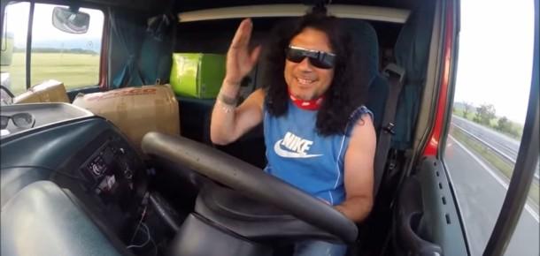 Sosyal Medya'da samimiyet ölmedi! Tır şoförü Ali Can abinin efsane YouTube kanalı