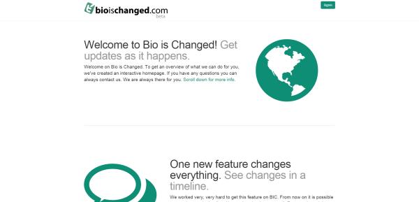 bio-is-changed
