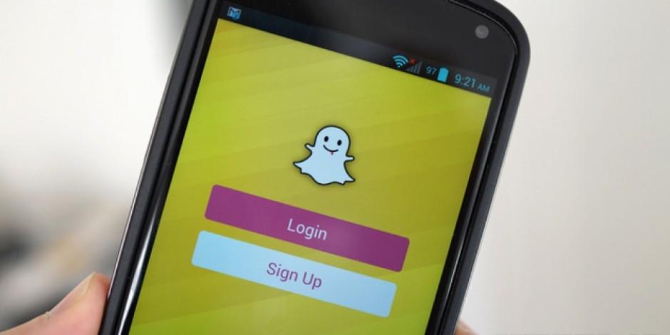 Snapchat'ten video çekerken ön ve arka kamera arası hızlı geçiş sağlayan özellik