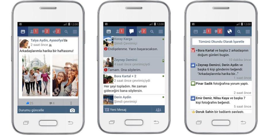 Facebook Lite artık Türkçe
