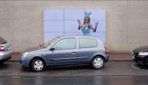 Fiat'tan park etmeyi kolaylaştıran akıllı billboard