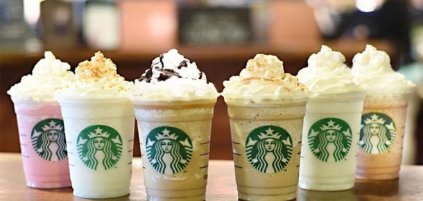 Starbucks ABD'de 6 yeni süper tatlı Frappuccino tanıttı
