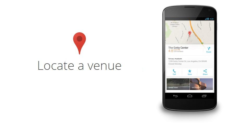 google-weddings-lokasyon