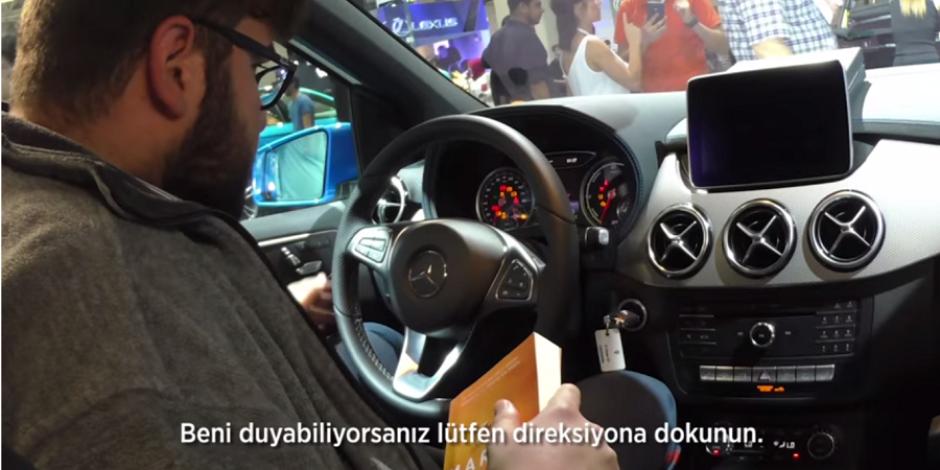 Ali İhsan Varol'la Mercedes'in eğlendiren araba şakası