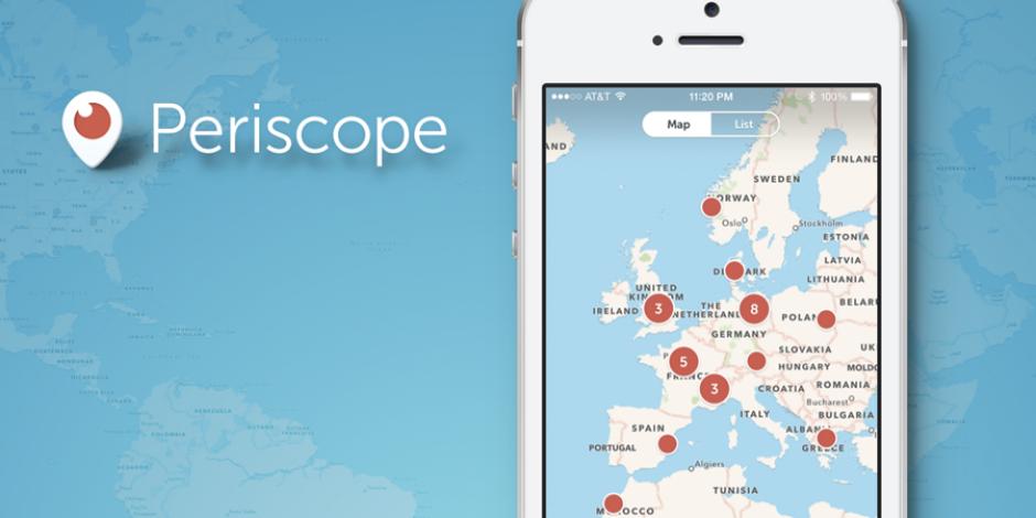 """Periscope web siteleri için """"Canlı Yayın"""" butonunu yayına aldı"""