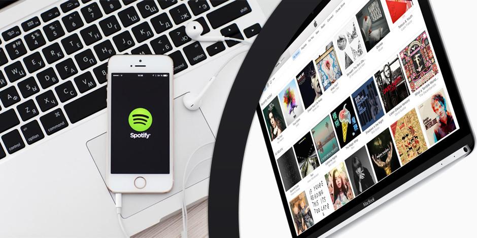 Spotify ile Apple Music yarışında kim önde?