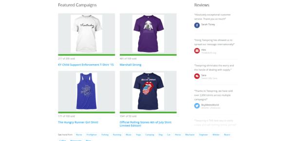 Tişört tasarlayarak ek gelir elde etmenin farklı yolu: TeeSpring