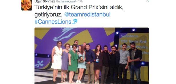 Team Red'e ajanslardan tebrik mesajları