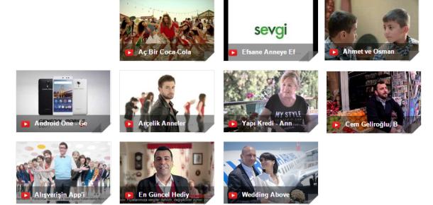 YouTube Türkiye'de Mayıs ayının en popüler 10 reklamı