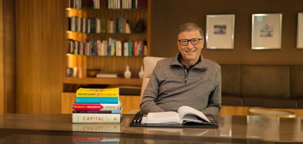 Bill Gates'in tavsiye ettiği 12 kitap