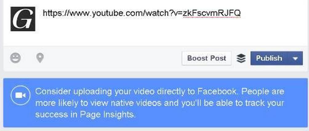 facebook youtube video hata yazısı