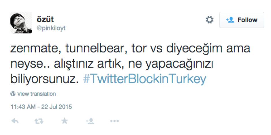Twitter kapatıldıktan sonra etiket #TwitterBlockinTurkey oldu