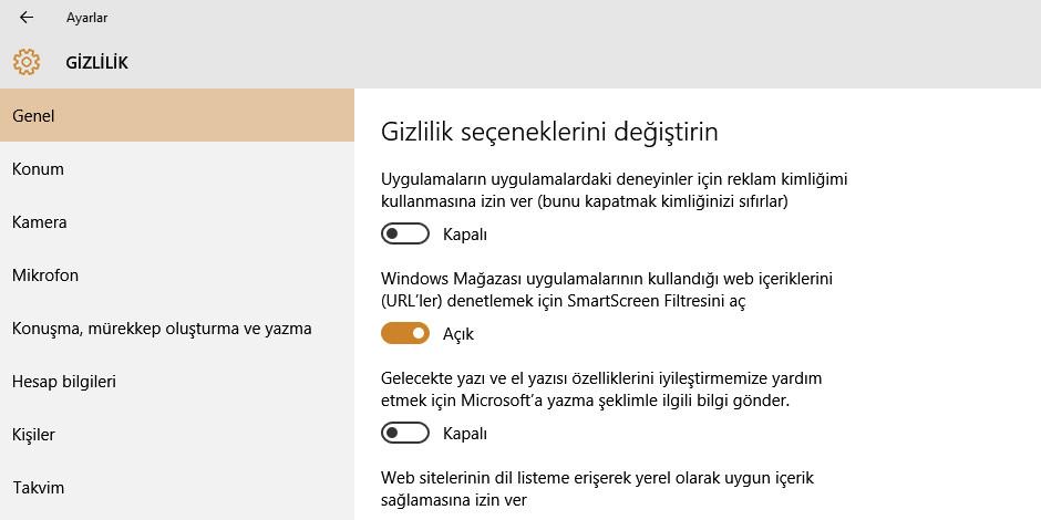 Windows 10 ve bilinmesi gereken güvenlik konuları
