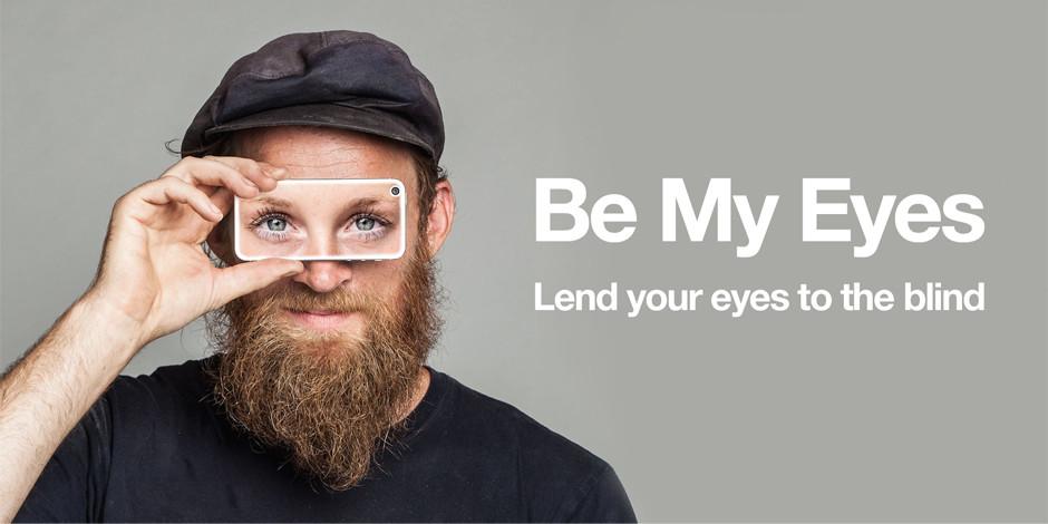 """Birilerine göz kulak olabilirsiniz: """"Be My Eyes"""""""